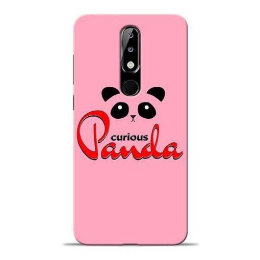 Curious Panda Nokia 5.1 Plus Mobile Cover