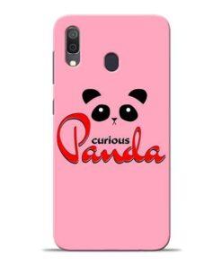 Curious Panda Samsung A30 Mobile Cover