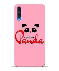 Curious Panda Samsung A50 Mobile Cover