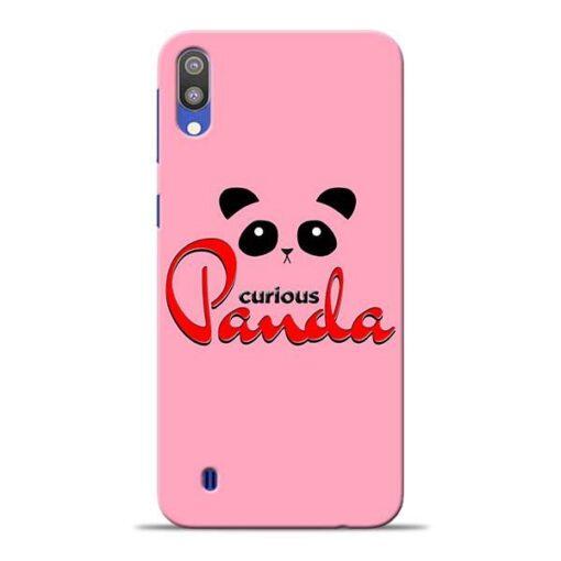 Curious Panda Samsung M10 Mobile Cover