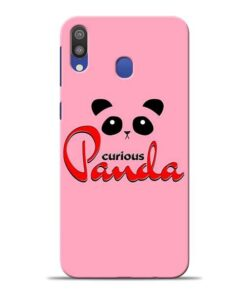 Curious Panda Samsung M20 Mobile Cover