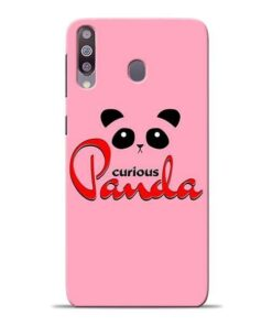 Curious Panda Samsung M30 Mobile Cover