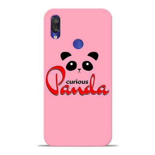 Curious Panda Xiaomi Redmi Note 7 Pro Mobile Cover