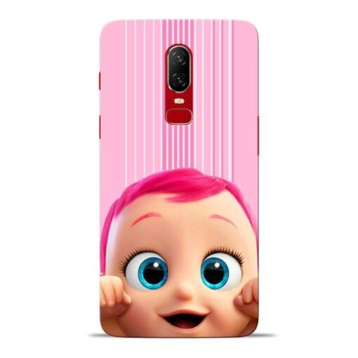 Cute Baby Oneplus 6 Mobile Cover