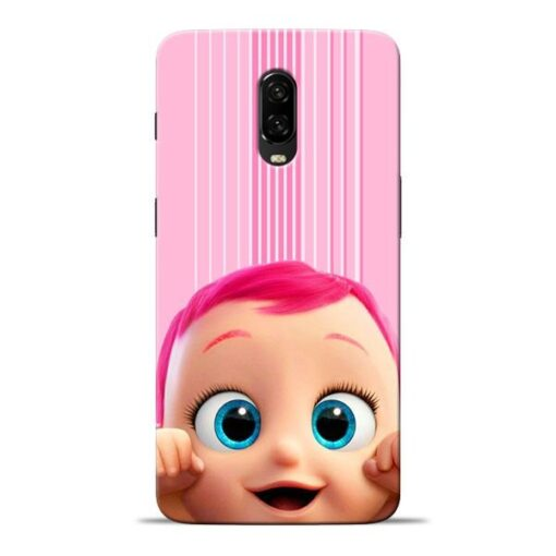 Cute Baby Oneplus 6T Mobile Cover