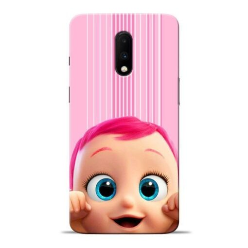 Cute Baby Oneplus 7 Mobile Cover