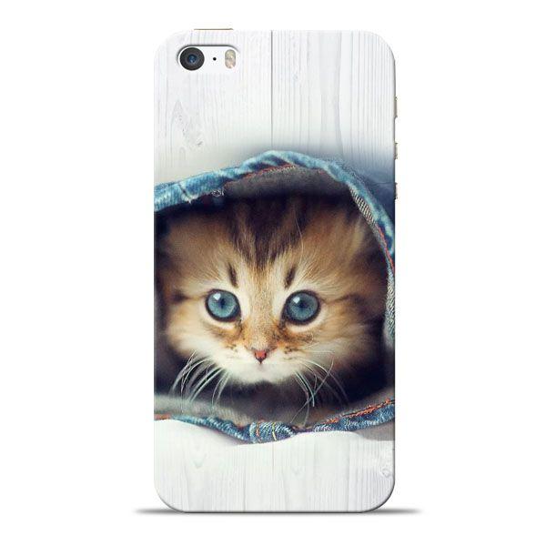 new style f2d55 da329 Cute Cat Apple iPhone 5s Mobile Cover