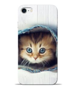 Cute Cat Apple iPhone 8 Mobile Cover