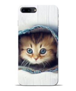 Cute Cat Apple iPhone 8 Plus Mobile Cover