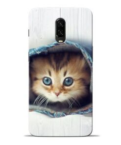 Cute Cat Oneplus 6T Mobile Cover