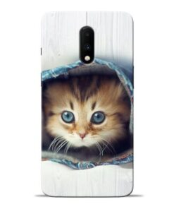 Cute Cat Oneplus 7 Mobile Cover