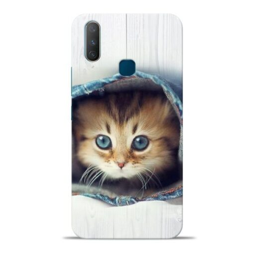 Cute Cat Vivo Y17 Mobile Cover