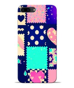 Cute Girly Apple iPhone 8 Plus Mobile Cover