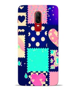 Cute Girly Oneplus 6 Mobile Cover