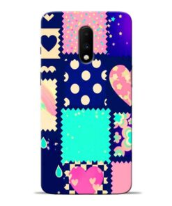 Cute Girly Oneplus 7 Mobile Cover