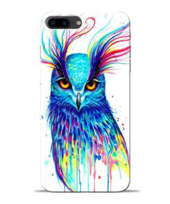 Cute Owl Apple iPhone 8 Plus Mobile Cover