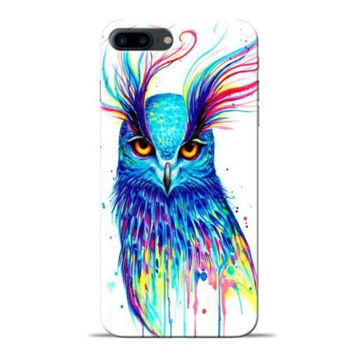 Cute Owl Apple iPhone 8 Plus Mobile Cover
