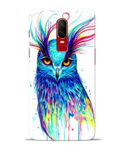 Cute Owl Oneplus 6 Mobile Cover