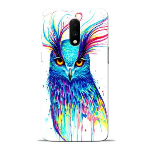 Cute Owl Oneplus 7 Mobile Cover