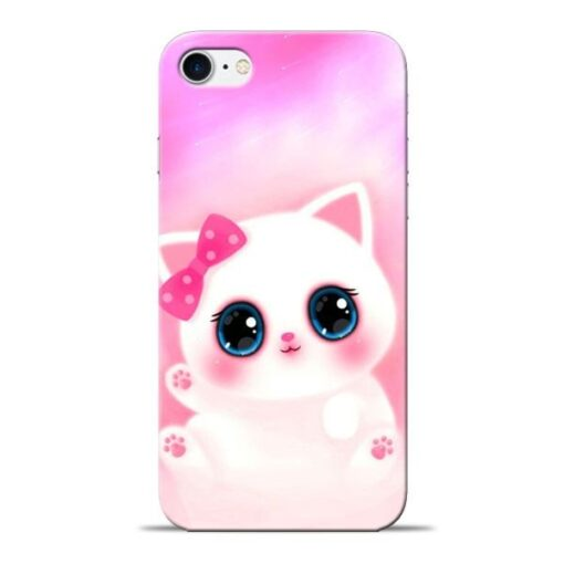 Cute Squishy Apple iPhone 8 Mobile Cover