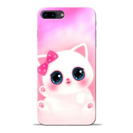 Cute Squishy Apple iPhone 8 Plus Mobile Cover
