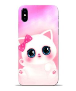Cute Squishy Apple iPhone X Mobile Cover