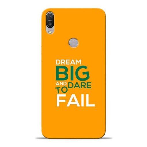 Dare to Fail Asus Zenfone Max Pro M1 Mobile Cover