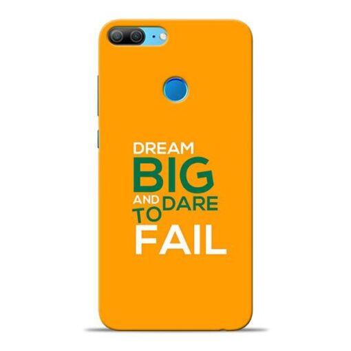 Dare to Fail Honor 9 Lite Mobile Cover