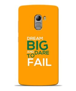 Dare to Fail Lenovo K4 Note Mobile Cover