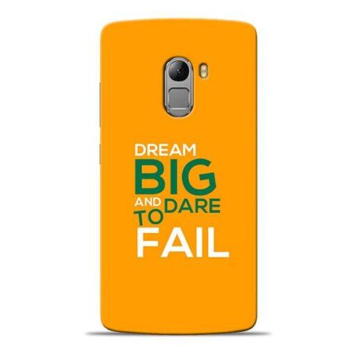 Dare to Fail Lenovo K4 Note Mobile Cover