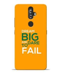 Dare to Fail Lenovo K8 Plus Mobile Cover