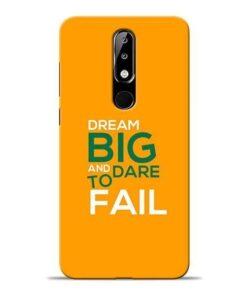 Dare to Fail Nokia 5.1 Plus Mobile Cover