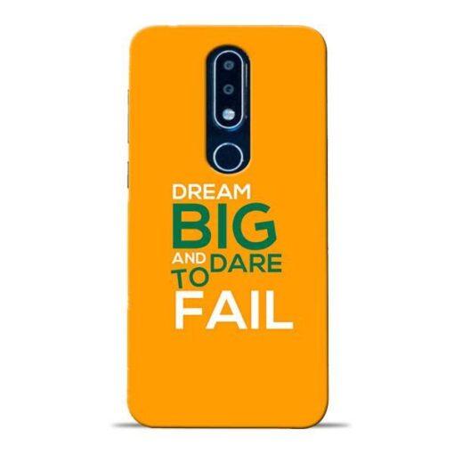 Dare to Fail Nokia 6.1 Plus Mobile Cover
