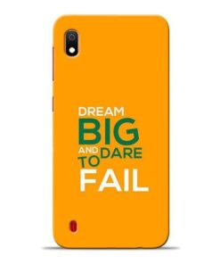 Dare to Fail Samsung A10 Mobile Cover