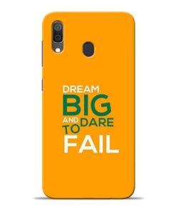 Dare to Fail Samsung A30 Mobile Cover