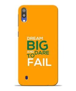 Dare to Fail Samsung M10 Mobile Cover