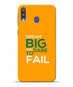Dare to Fail Samsung M20 Mobile Cover