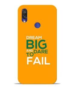 Dare to Fail Xiaomi Redmi Note 7 Mobile Cover