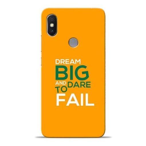 Dare to Fail Xiaomi Redmi Y2 Mobile Cover