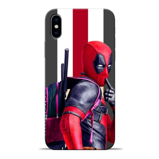 DeadPool Star Apple iPhone X Mobile Cover