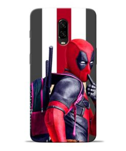 DeadPool Star Oneplus 6T Mobile Cover