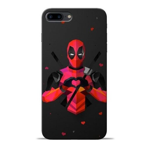 DeedPool Cool Apple iPhone 8 Plus Mobile Cover