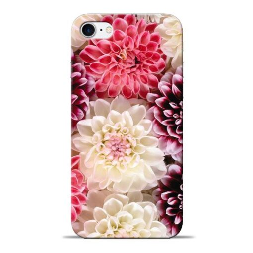 Digital Floral Apple iPhone 8 Mobile Cover