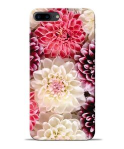 Digital Floral Apple iPhone 8 Plus Mobile Cover