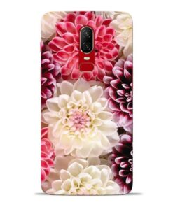 Digital Floral Oneplus 6 Mobile Cover