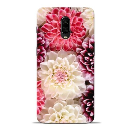 Digital Floral Oneplus 6T Mobile Cover