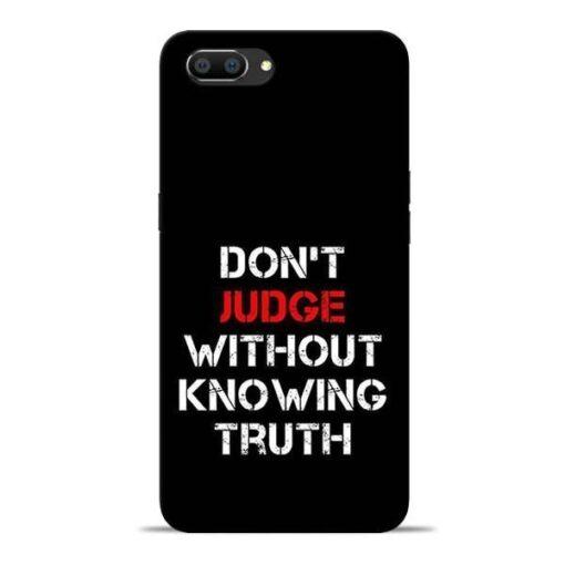 DonT Judge Oppo Realme C1 Mobile Cover
