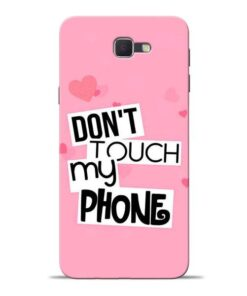 Dont Touch Samsung J7 Prime Mobile Cover