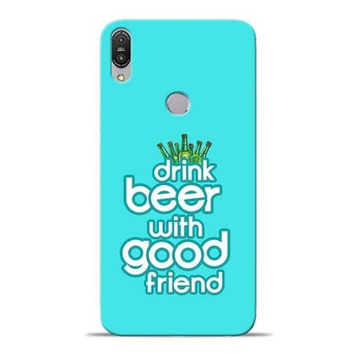Drink Beer Asus Zenfone Max Pro M1 Mobile Cover