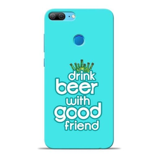 Drink Beer Honor 9 Lite Mobile Cover